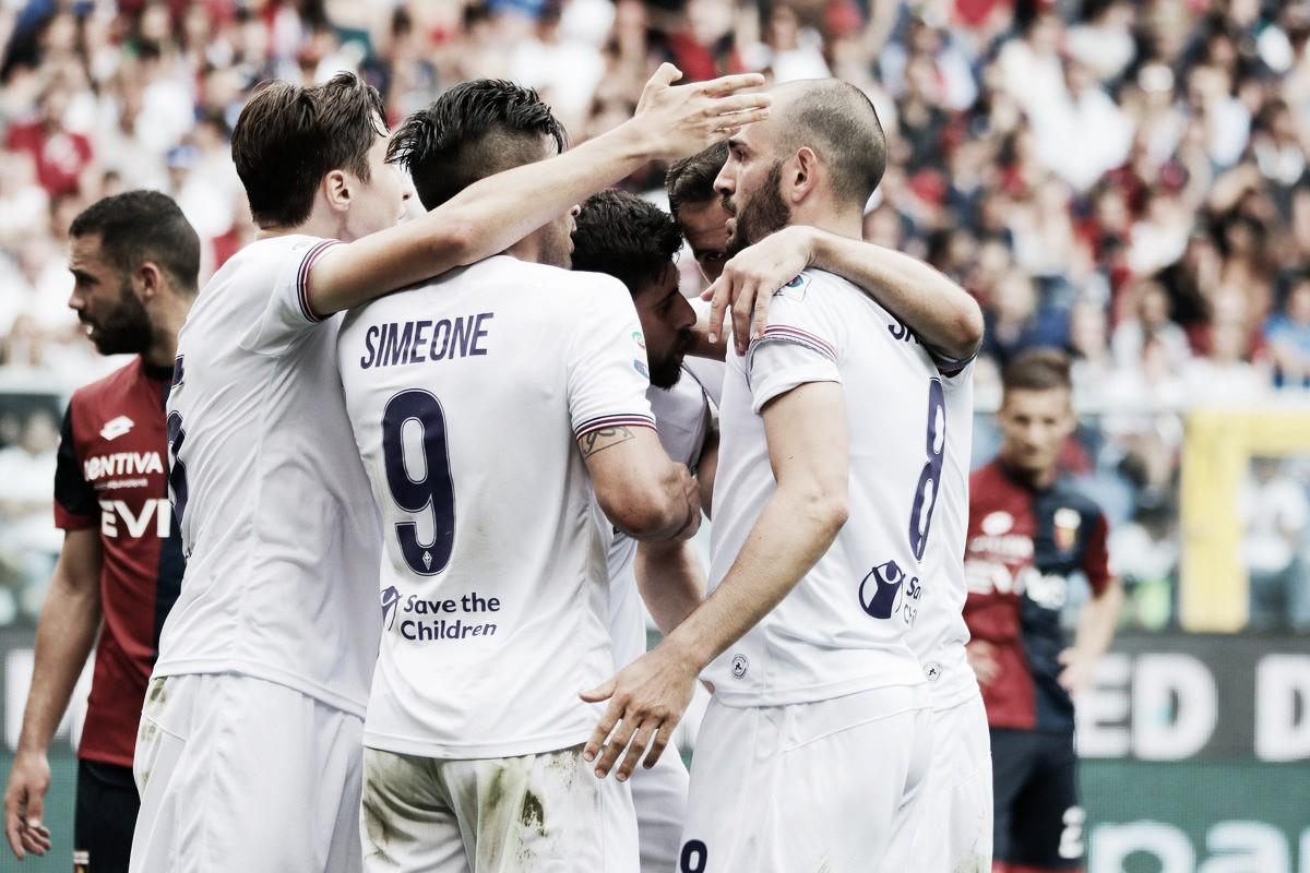 Fiorentina derrota Genoa em jogo de duas viradas e continua sonhando com ida à UEL