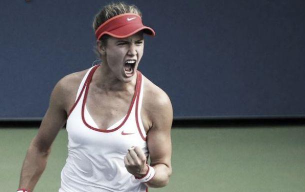 US Open 2015: Bouchard overcomes Riske