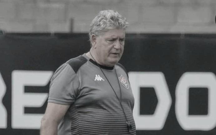 Após empate eletrizante, Geninho diz que Vitória 'sentiu muito'