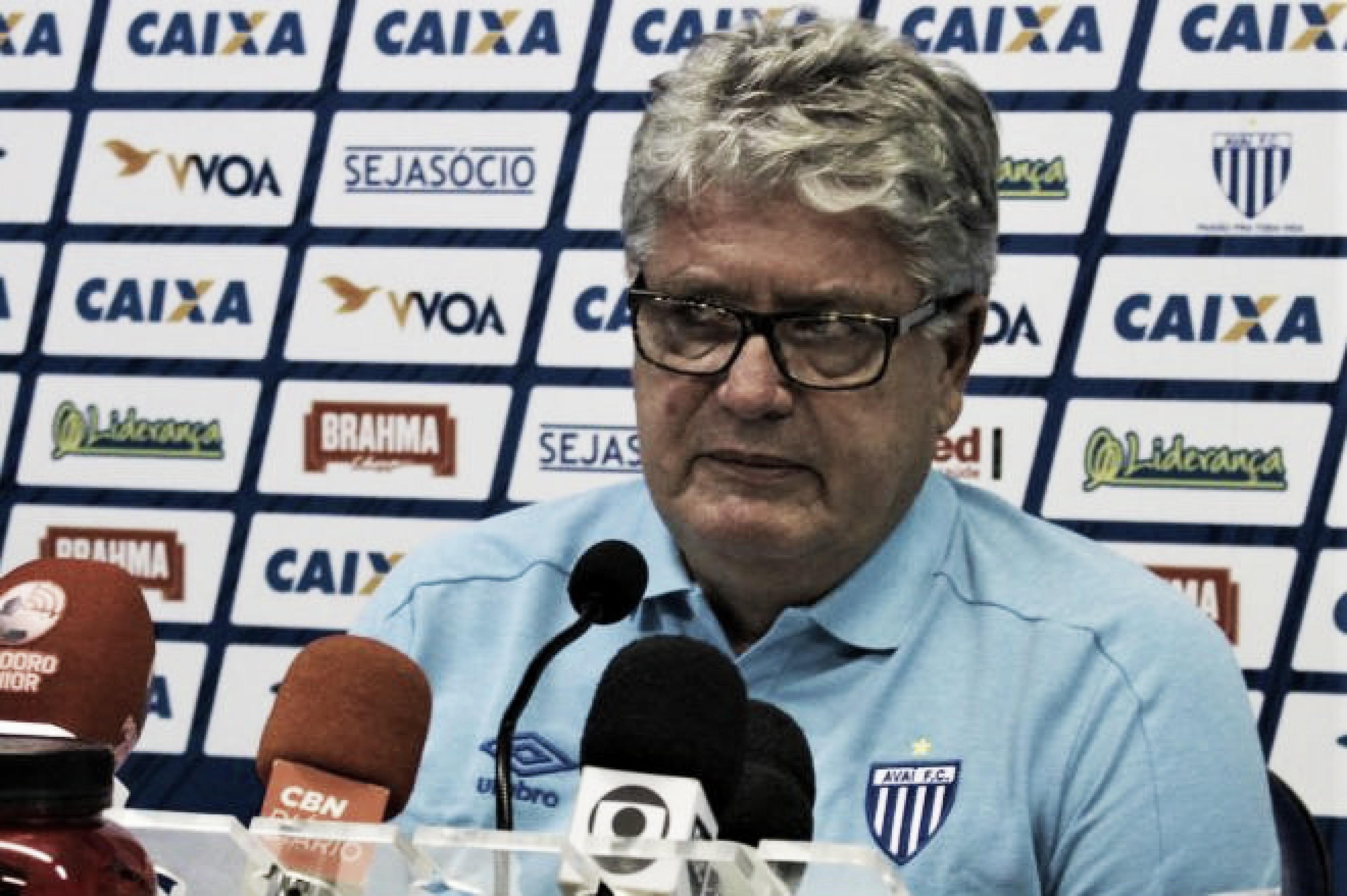Geninho lamenta 'castigo' do Avaí em derrota para o Criciúma