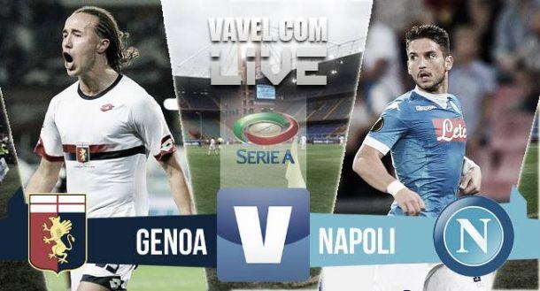 Risultato Genoa - Napoli, Serie A 2015/2016 (0-0)