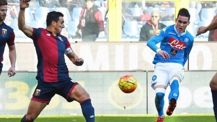 Genoa - Napoli, Serie A 2016/17 (0-0): Hamsik e Insigne vanno vicini al gol, Reina salva due volte su Simeone