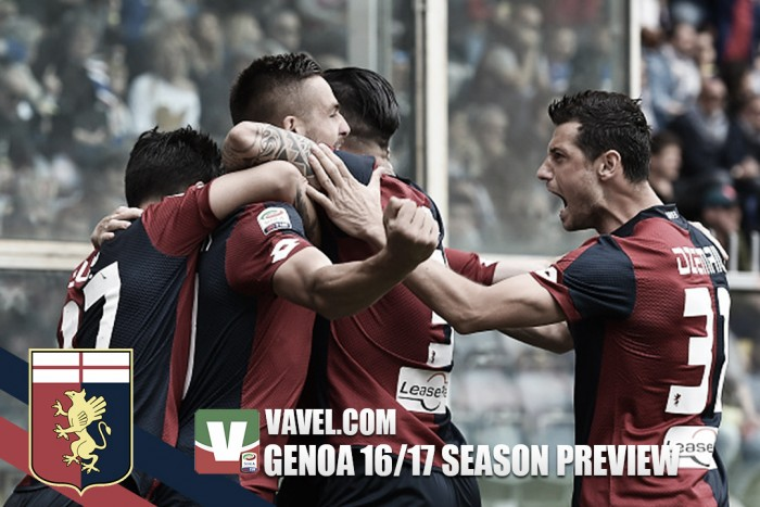 Genoa 2016/17 Serie A season preview: Genoa out to make amends for going backwards last term