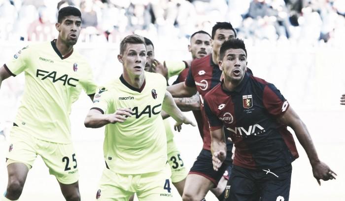 Serie A - Ntcham salva il Genoa al 94': 1-1 con il Bologna