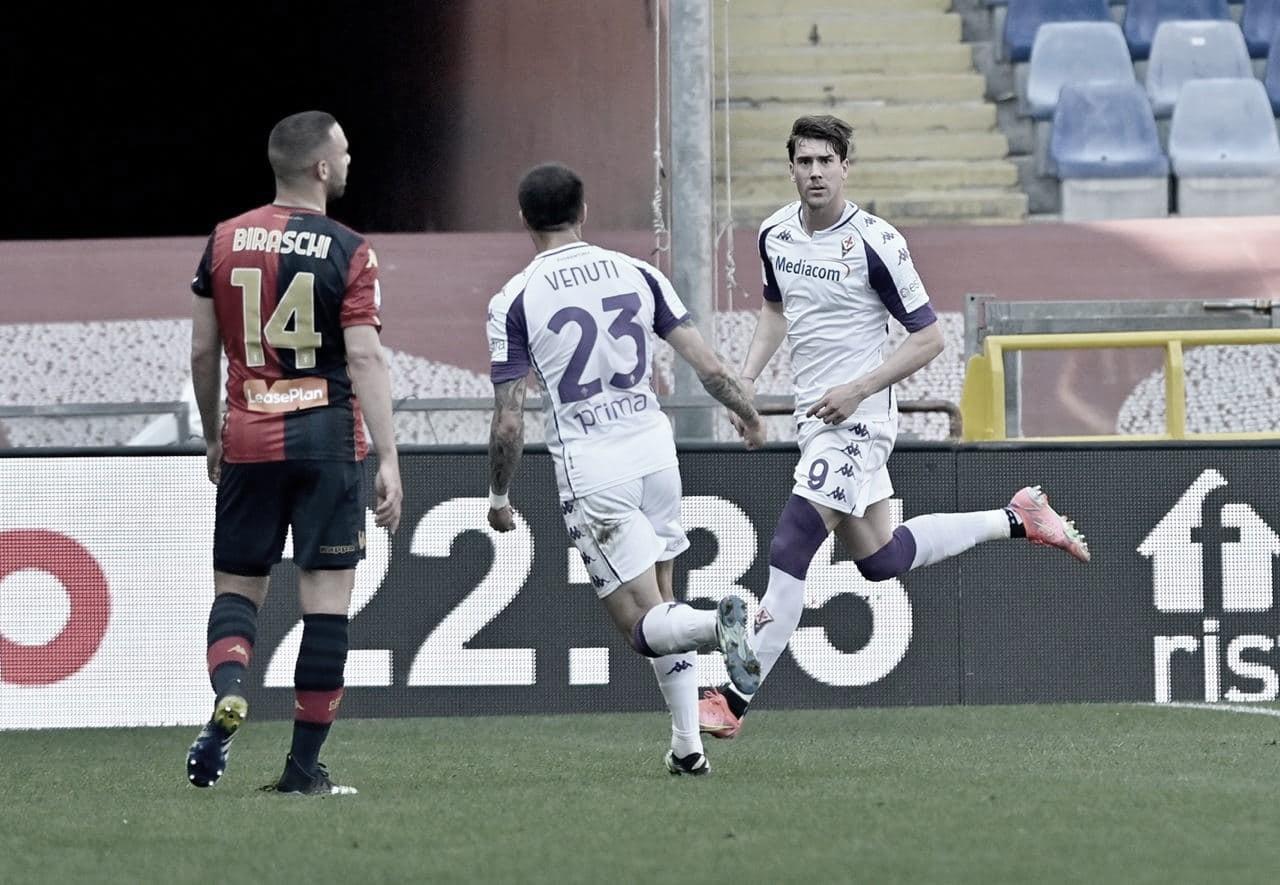 Gols e Melhores Momentos de Genoa x Fiorentina (1-2)