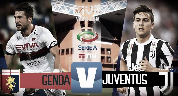 Terminata Genoa - Juventus, LIVE Serie A 2017/18 (2-4): Dybala guida una rimonta fenomenale!