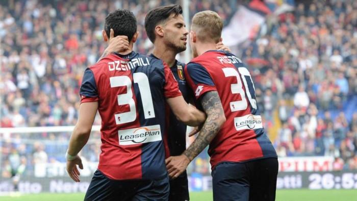 Il Genoa cala il pokerissimo: Frosinone domato per 4-0 grazie ad un Suso maiuscolo