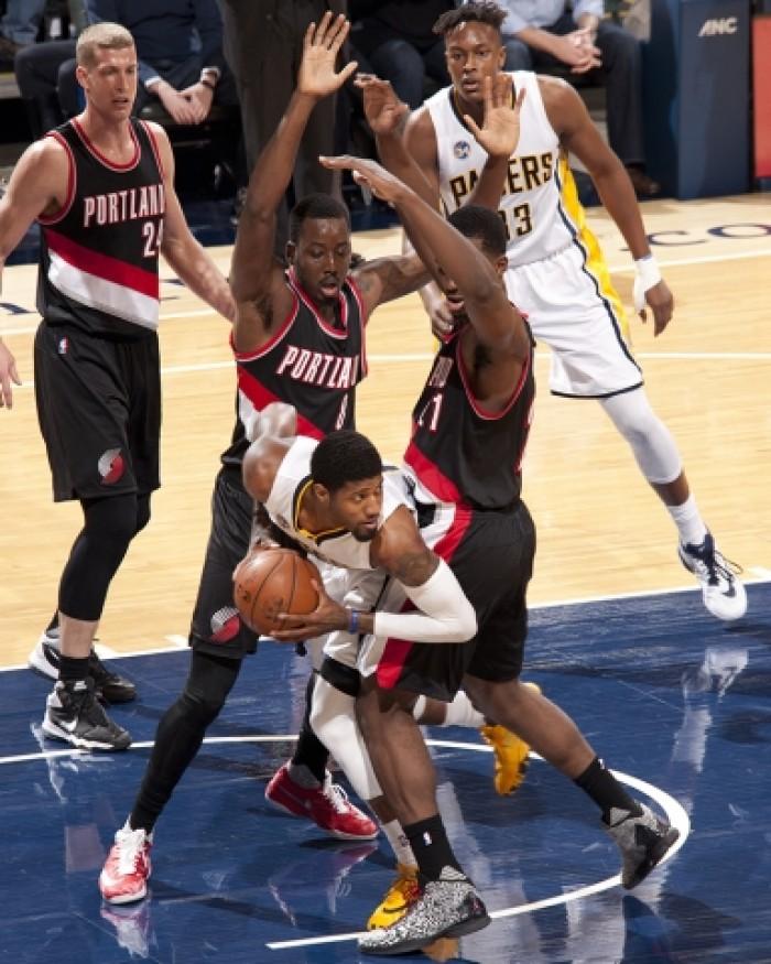 Portland Trail Blazers Final Score: Indiana Pacers Slip At Home To Portland Trail Blazers, 111