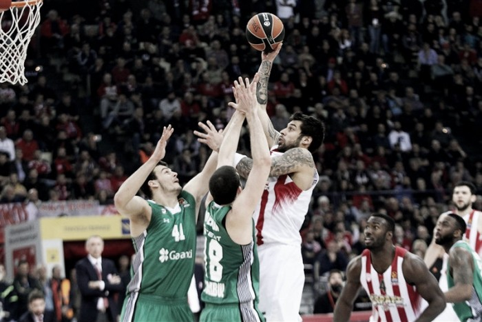 Eurolega - Al Pireo trionfa ancora l'Olympiakos, Darussafaka sconfitto 81-73