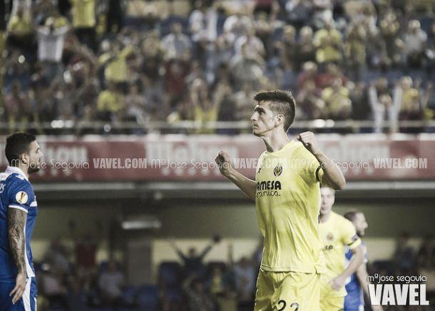 """Gerard Moreno: """"El equipo ha hecho un gran partido"""""""
