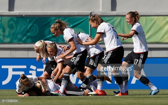 Venezuela under-17 1-2 Germany under-17: Gwinn gets Germans off to perfect start