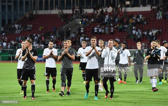 Germany under-21s book Euro 2017 final spot with win over Russia