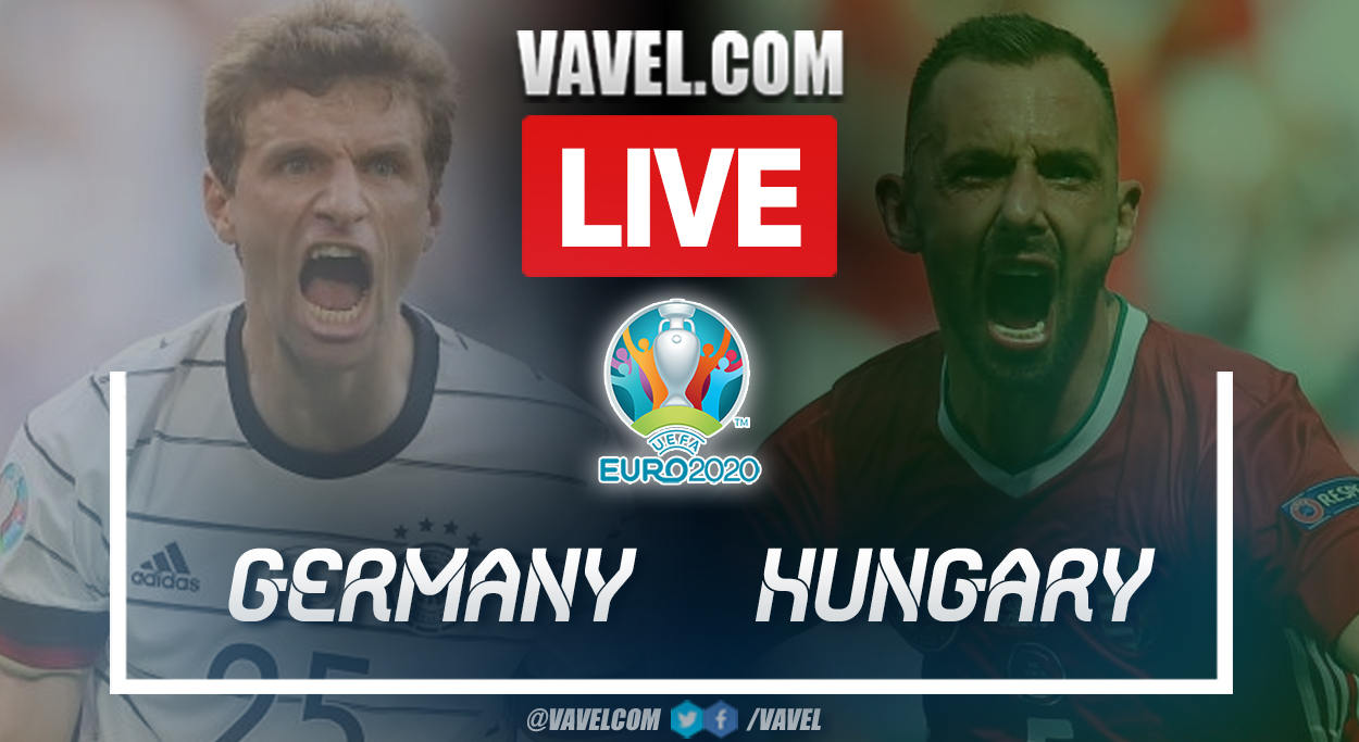 Highlights and goals: Germany 2-2 Hungary in UEFA Euro 2020