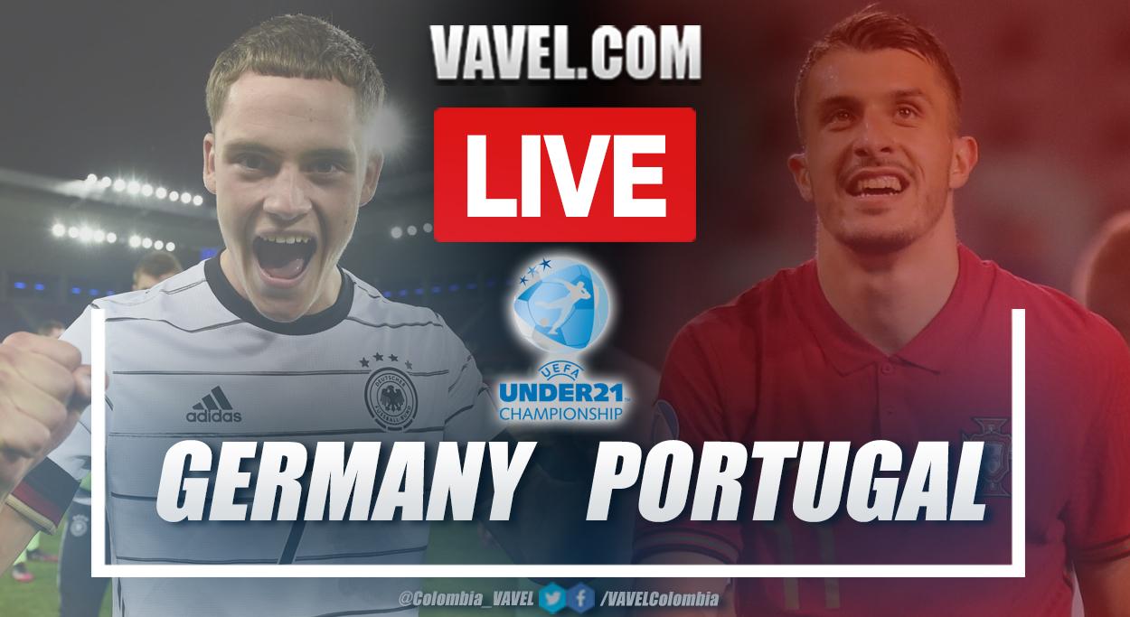 Goals and summary: Germany U21 vs Portugal U21 (1-0) in the final of the U21 EURO 2021.