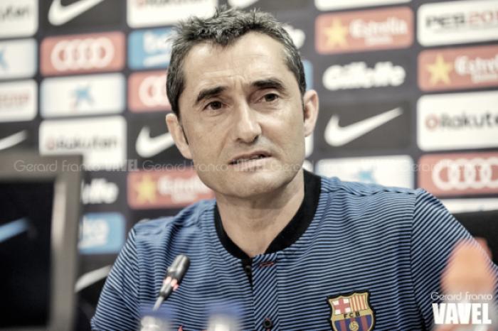 """Ernesto Valverde: """"El partido de hoy era para sumar minutos"""""""
