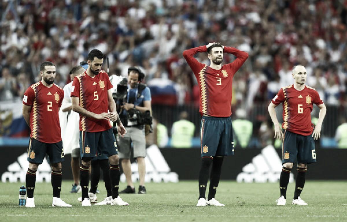 Gerard Piqué se despide de la selección española