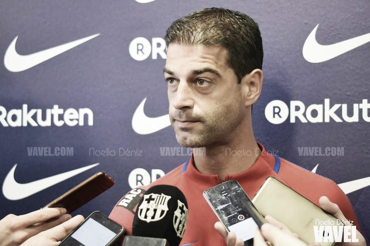 """Gerard López: """"No es un partido importante, es lo siguiente"""""""