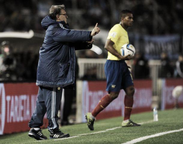 """Martino: """"Ecuador nos superó en todas las facetas"""""""