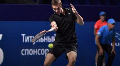 ATP 250 Mosca: fuori Cecchinato, continua a sorprendere Gerasimov