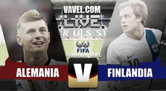 Partita Germania-Finlandia in amichevole internazionale 2016  (2-0)