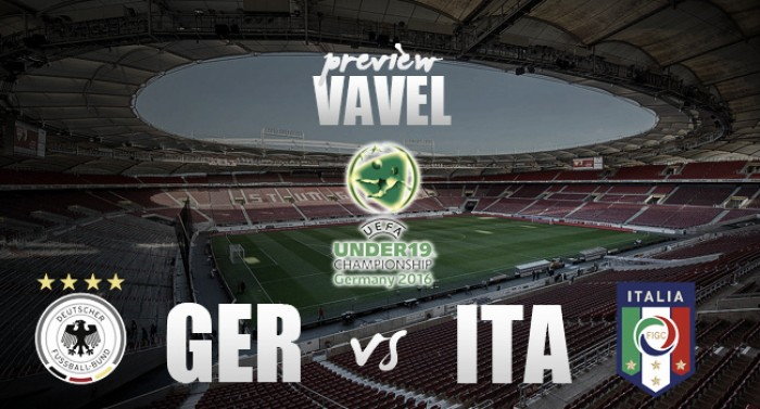 2016 UEFA European under-19 Championship - Germany vs Italy Preview: Can the young guns repeat first-team feats?