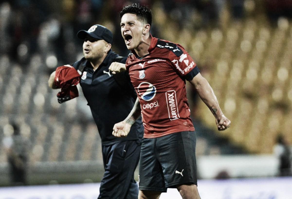 Puntuaciones, DIM – Junior, por la Liga Águila