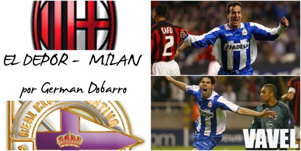 El Deportivo - Milán, por Germán Dobarro