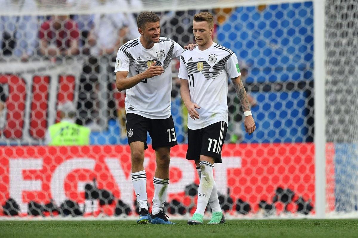 Germania 0-1 Messico, il motore è inceppato