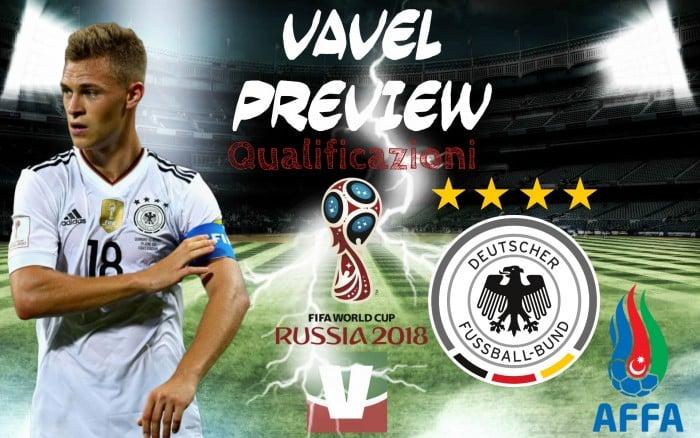 Qualificazioni Russia 2018 - Germania, passerella finale a Kaiserslautern contro l'Azerbaigian