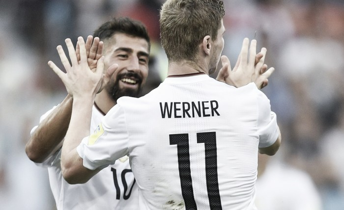 Confederations Cup 2017 - Si scatena Werner, la Germania batte 3-1 il Camerun e si prende il primo posto