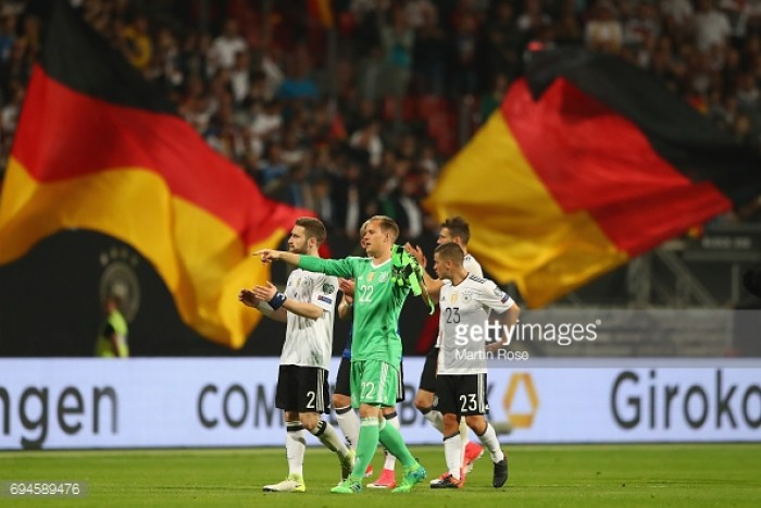 Germany 7-0 San Marino: Young Germans in seventh heaven as they ease to victory over minnows