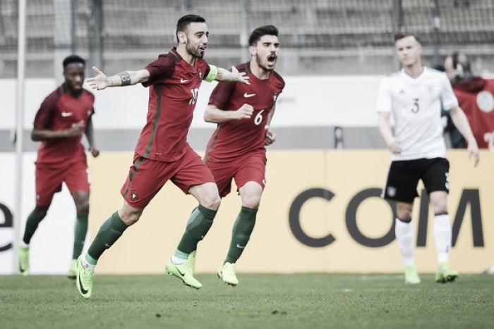 Alemania no pudo ante Portugal