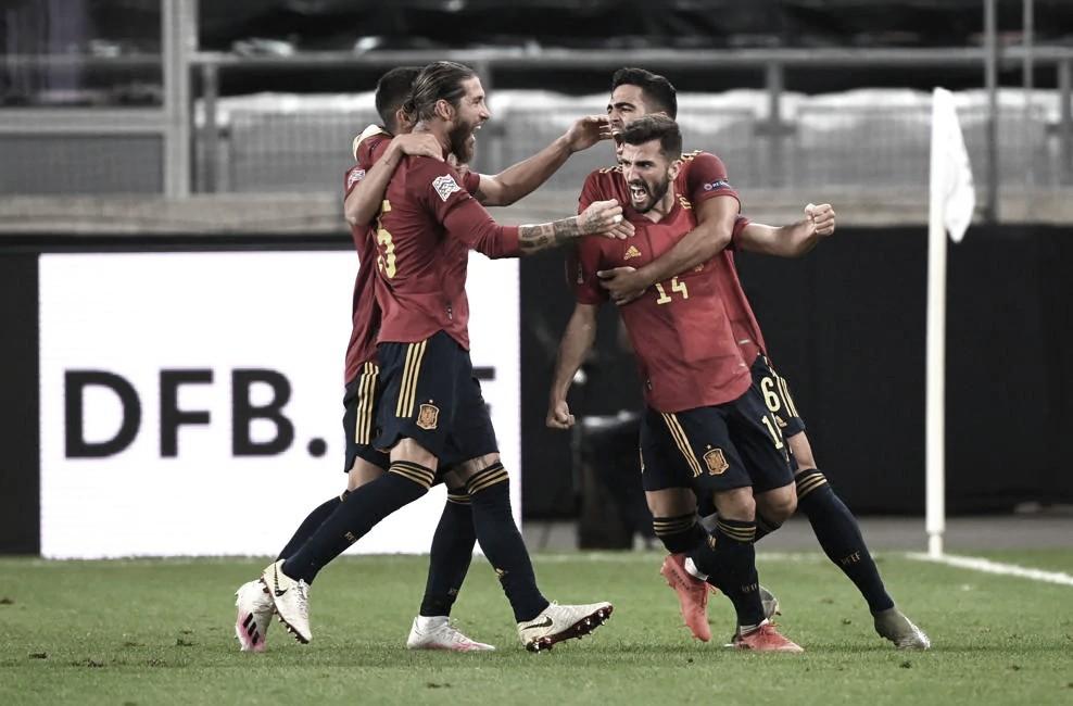 Resumen España 6-0 Alemania en UEFA Nations League 2020