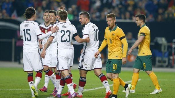 Georgia - Germany: Minnows face faltering Giants in Tbilsi
