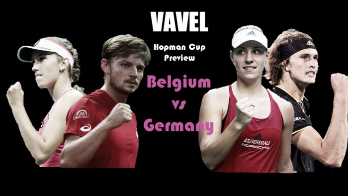 Hopman Cup Group A Preview: Belgium vs Germany