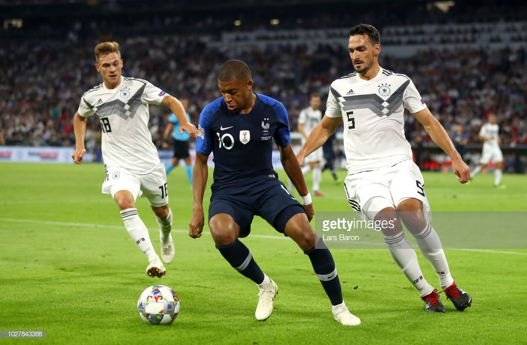 Germany 0-0 France: 2018 World Cup champions held by former holders in goalless stalemate