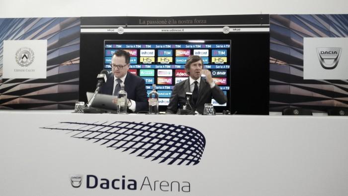 """Udinese - Gerolin: """"Siamo vigili sul mercato. Per la punta bisogna tener conto dei parametri economici"""""""