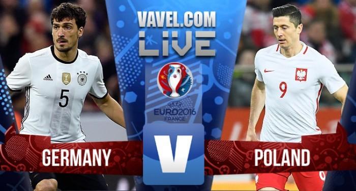 Live Germania - Polonia, Euro 2016  (0-0): termina a reti bianche la sfida dello Stade De France