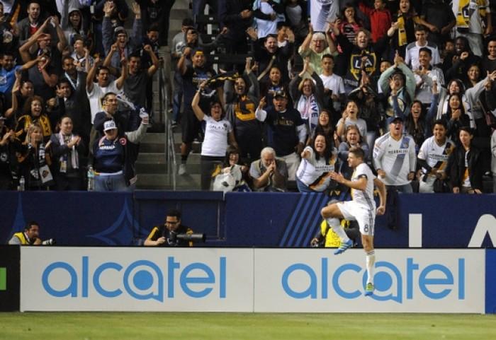 Los Angeles Galaxy bombard Real Salt Lake, win 5-2