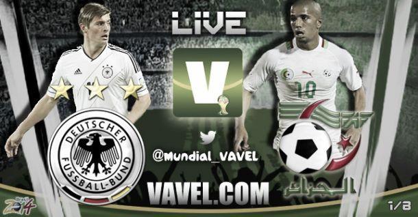 Alemanha x Argélia, Copa do Mundo