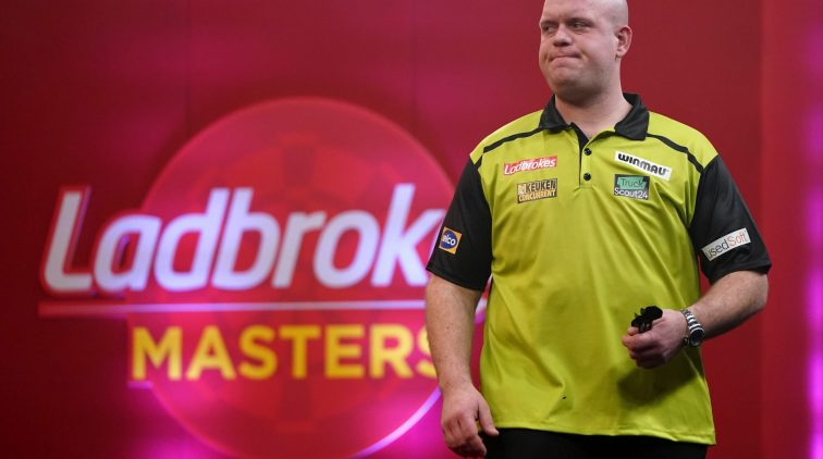 Darts: Michael Van Gerwen among withdrawals for next Players Championship events