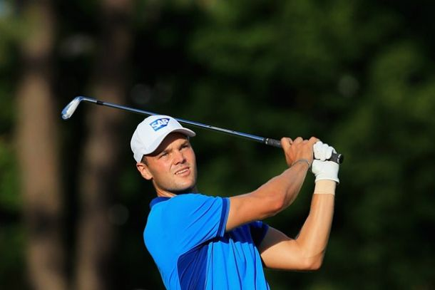 Martin Kaymer, líder destacado del US Open