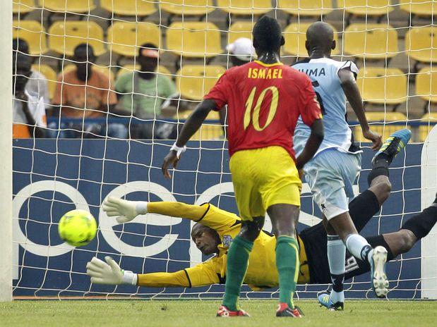 Guinea Conakry deja fuera a la novata Botswana con una goleada