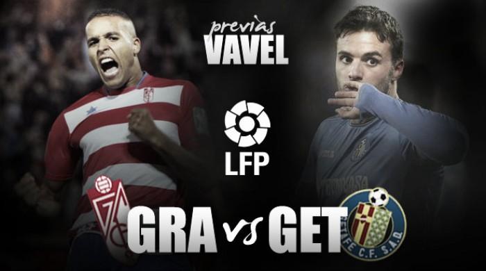 Granada CF - Getafe CF: continuar la racha