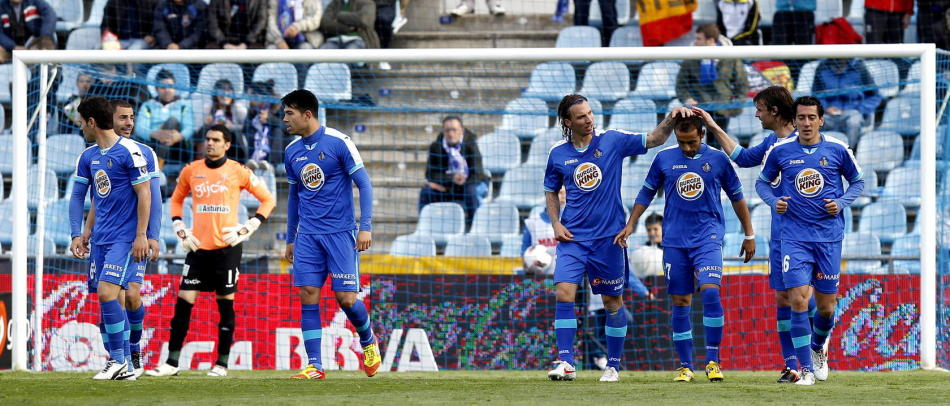 Puntuaciones del Getafe CF 2011/2012