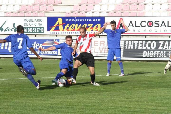 Getafe CF B 2-0 CF Zamora: los madrileños se toman un respiro
