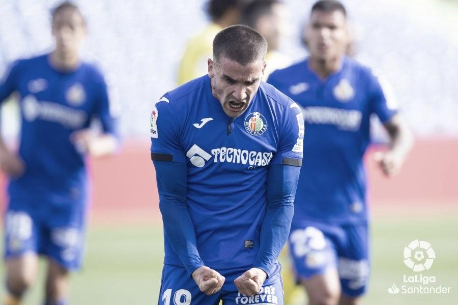 Mauro Arambarri celebrando un gol. Fuente: LaLiga