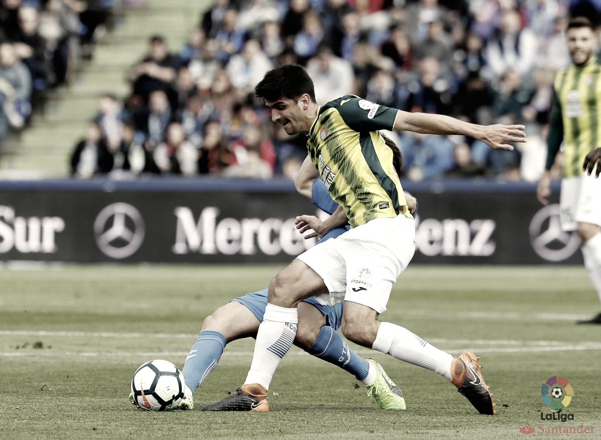 Un gol de falta del Getafe deja al Espanyol con las manos vacías
