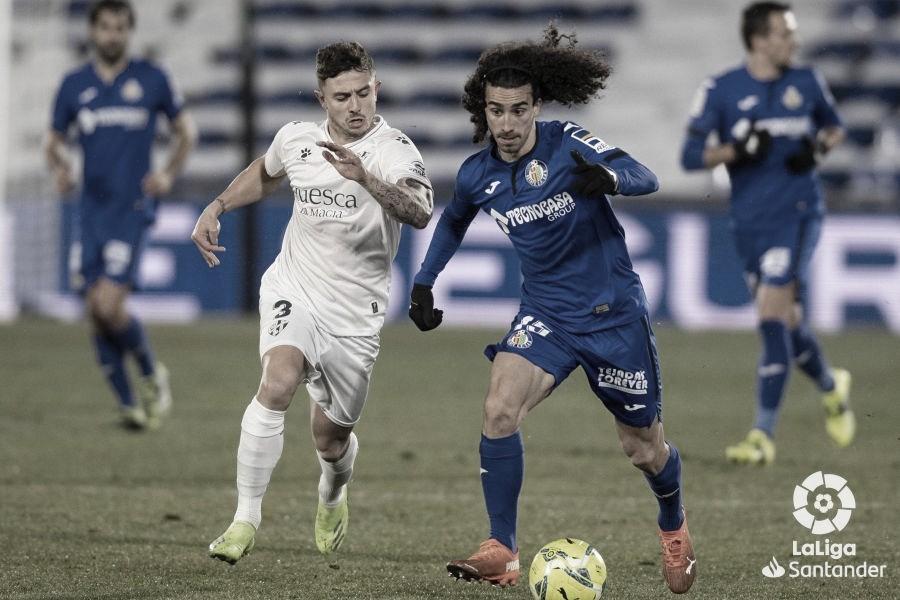 Previa SD Huesca vs Getafe CF: ambos conjuntos se juegan la permanencia