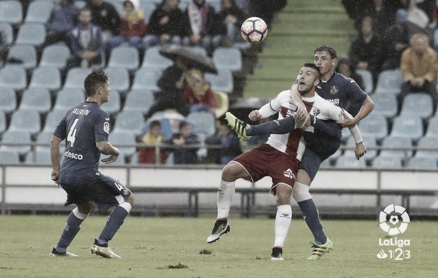 Getafe vs Huesca en el Coliseum // Fuente: La Liga